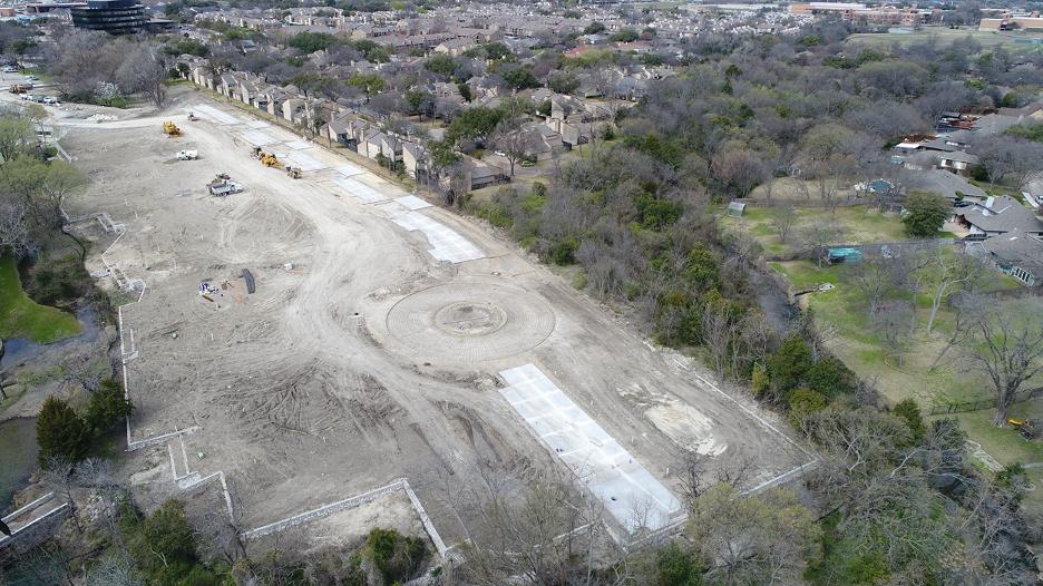 Urban Commons site progress 2020